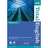 New Total English Elem. SB + DVD & MyLab