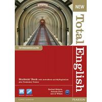 New Total English Int. SB + DVD & MyLab