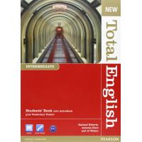 New Total English Int. SB + DVD
