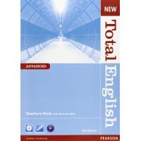 New Total English Adv. TB + CD-ROM