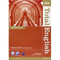 New Total English Int. TB + CD-ROM
