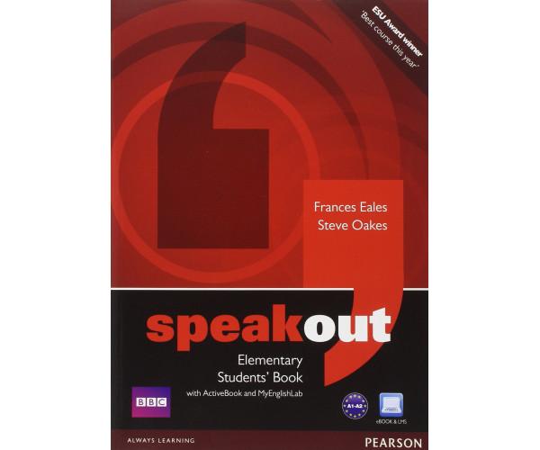 Speakout Elem. SB + DVD/Multi-ROM & MyLab
