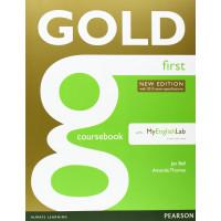 Gold First New Ed. SB + MyLab