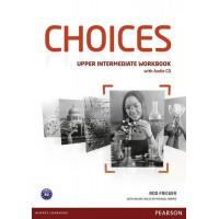 Choices Up-Int. WB + CD (pratybos)