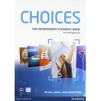 Choices Pre-Int. SB + MyLab