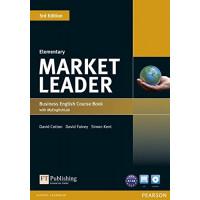 Market Leader 3rd Ed. Elem. SB + DVD-ROM & MyLab