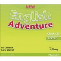 New English Adventure. 1 Cl. CDs