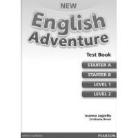 New English Adventure. A,B,1,2 Tests