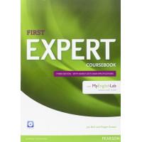 First Expert 3rd Ed. SB + CD & MyEnglish Lab