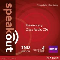 Speakout 2nd Ed. Elem. Cl. CDs