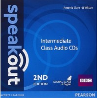 Speakout 2nd Ed. Int. Cl. CDs