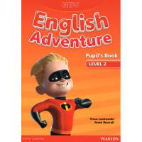 New English Adventure. 2 SB + DVD