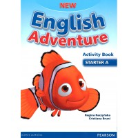 New English Adventure. Starter A AB + Song CD