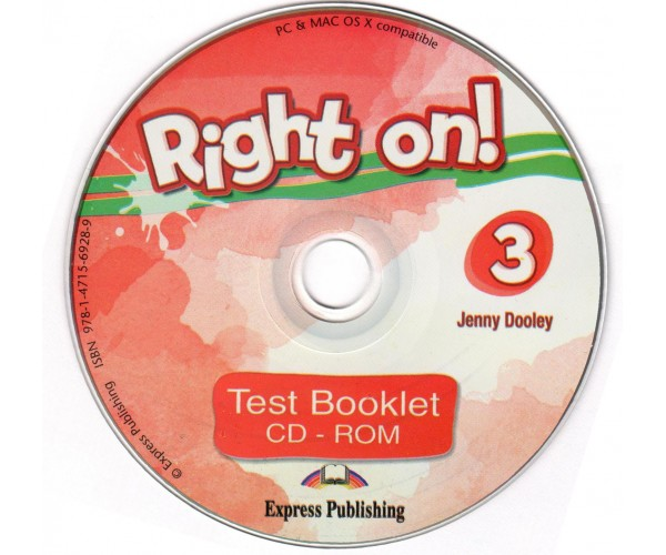 Right On! 3 Test Booklet CD-ROM
