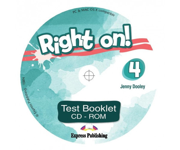 Right On! 4 Test Booklet CD-ROM