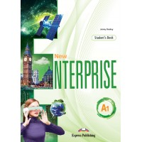 New Enterprise A1 SB + DigiBooks App (vadovėlis)