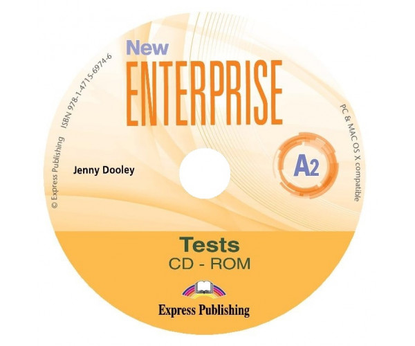 New Enterprise A2 Tests CD-ROM