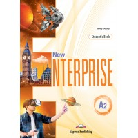 New Enterprise A2 SB + DigiBooks App (vadovėlis)