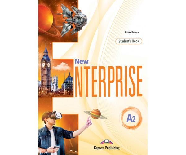 New Enterprise A2 SB + DigiBooks App (vadovėlis)