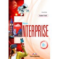 New Enterprise B1 SB + DigiBooks App (vadovėlis)