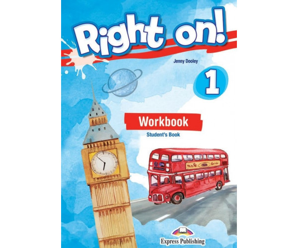 Right On! 1 WB + ieBook & DigiBooks App (pratybos)