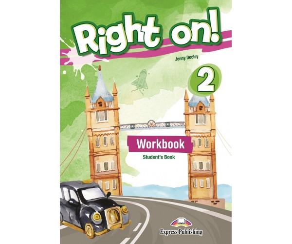 Right On! 2 WB + ieBook & DigiBooks App (pratybos)