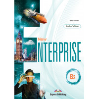 New Enterprise B2 SB + DigiBooks App (vadovėlis)
