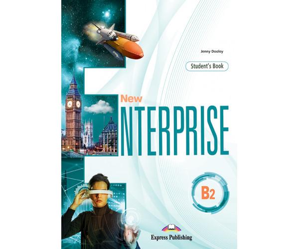 New Enterprise B2 SB + DigiBooks App (vadovėlis)