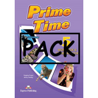 Prime Time 5 WB & Gr. + Rev. Listening, ieBook & DigiBook App
