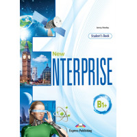 New Enterprise B1+ SB + DigiBooks App (vadovėlis)
