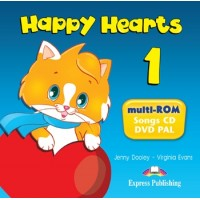 Happy Hearts 1 Multi-ROM (Songs CD/DVD)