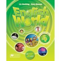 English World 4 TB + eBook