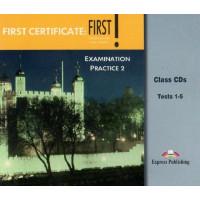 FC: First! Listening & Speaking 2 Cl. CD (NEMOKAMAS ATSISIUNTIMAS Mp3)