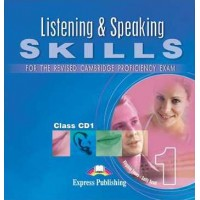 CPE Listening & Speaking Skills 1 Cl. CDs
