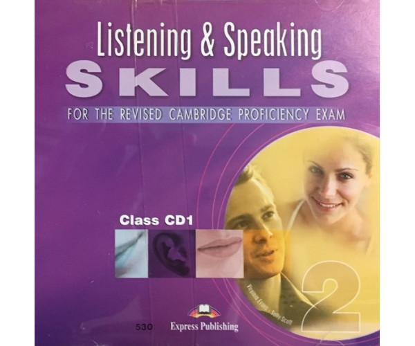 CPE Listening & Speaking Skills 2 Cl. CDs