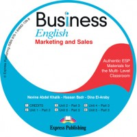 Bussiness English Marketing & Sales Cl. CD