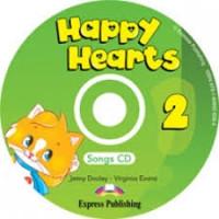 Happy Hearts 2 Songs CD