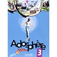 Adosphere 3 Livre + CD (vadovėlis)