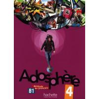 Adosphere 4 Livre + CD (vadovėlis)