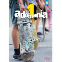 Adomania 1 Livre + CD-ROM (vadovėlis)