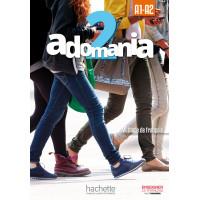 Adomania 2 Livre + CD-ROM (vadovėlis)