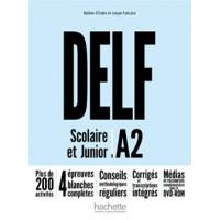DELF Scolaire & Junior Nouveau A2 Livre + DVD-ROM