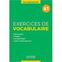 En Contexte. Exercices de Vocabulaire A1 Livre + Corriges