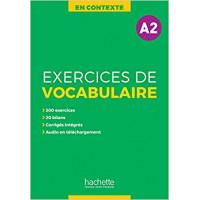 En Contexte. Exercices de Vocabulaire A2 Livre + Corriges