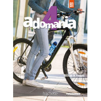 Adomania 4 Livre + CD-ROM (vadovėlis)