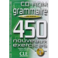 Grammaire 450 Nouv. Exercices Avance CD-ROM
