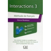 Interactions 3 Version Numerique USB