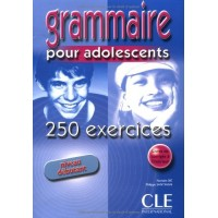 Grammaire 250 Exercices pour ados Debut. Livre + Corriges