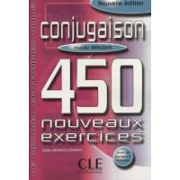Conjugaison 450 Nouv. Exercices Debut. Livre