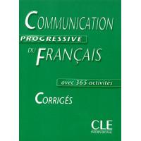 Communication Progr. du Francais Intermed. Corriges